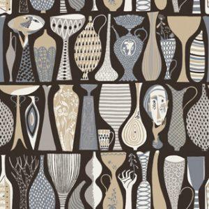 Pottery, Scandinavian Design 2, Borastapeter