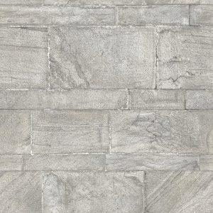 Sandstone Wall, Restored – A-Street